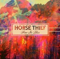 HORSE THIEF Fear In Bliss Vinyl Record LP Bella Union 2014 Blue Vinyl